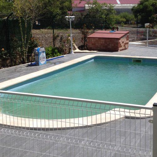 piscina de fibra de vidrio monocasco