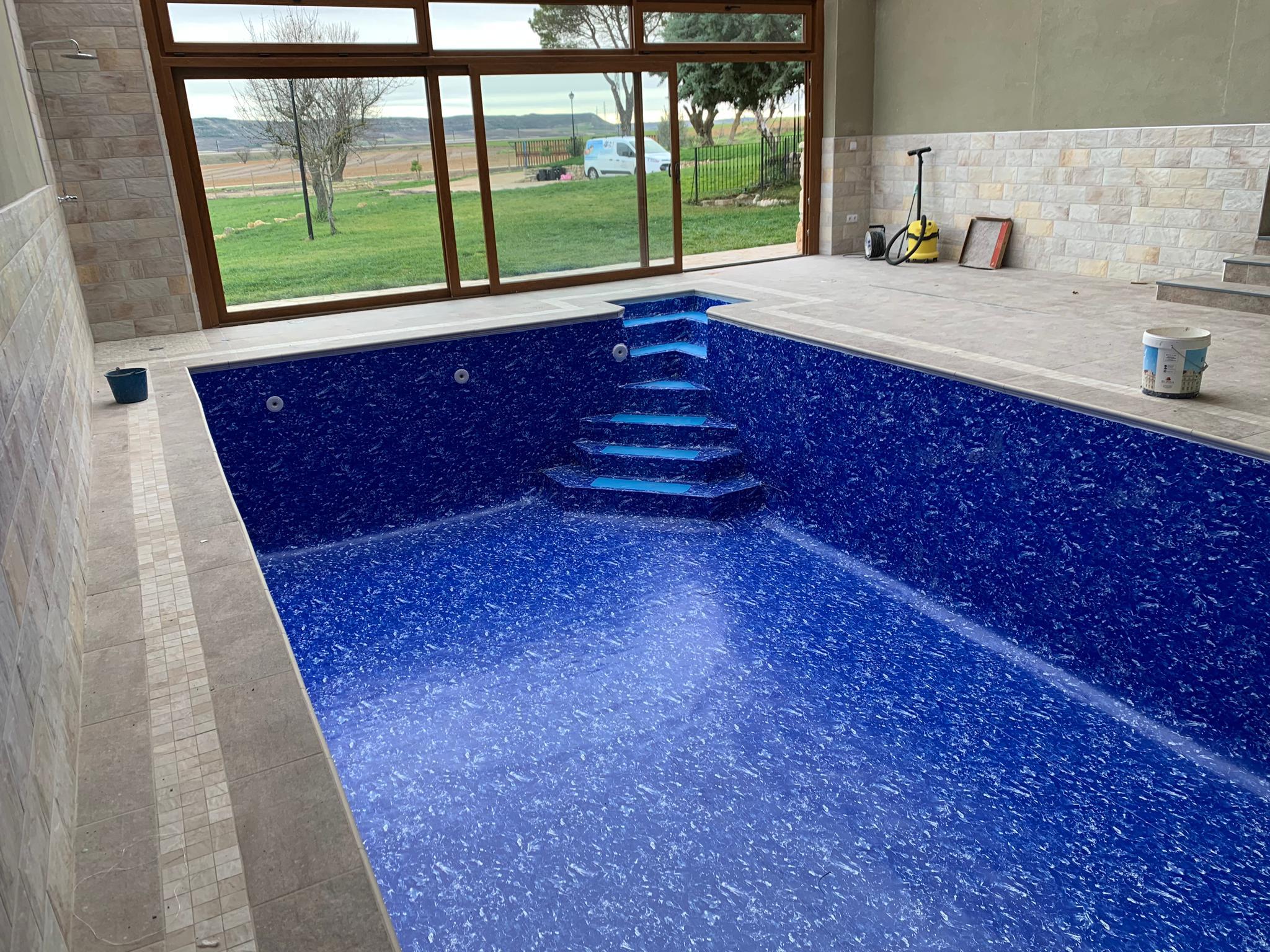 piscina rehabilitada con lamina armada